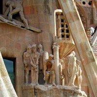 Фрагмент Собора Святого Семейства Гауди :: Tata Wolf
