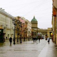 Малая Конюшенная улица. Вид на Казанский собор. :: Лия ☼