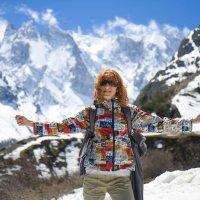 Портрет в горах :: Анастасия Кулагина