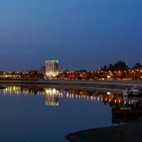 Река Кубань ночью :: Андрей Майоров