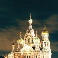 Храм Спаса-на-Крови (плёночное фото) :: Евгений Дмитриев