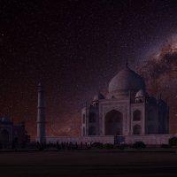 Индия.Тадж- Махал ночью :: юрий макаров