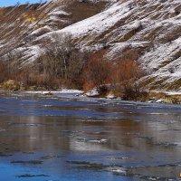Река Кубань в январе :: Игорь Сикорский