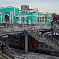 Встречает Новосибирск. :: cfysx