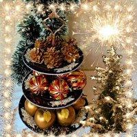 Новогодний натюрморт :: Nina Yudicheva