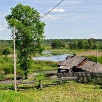 деревенский пейзаж :: Galina