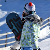 Две девушки-сноубордистки :: Асылбек Айманов