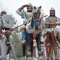 Былинные богатыри. :: Oleg4618 Шутченко