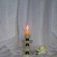 Свеча и роза! :: Наталья Джикидзе (Берёзина)