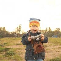 юный фотограф :: Irina Novikova
