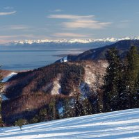 Байкальский горнолыжный курорт... :: Александр Попов