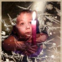 волшебная свеча :: liudmila drake