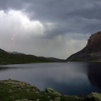 Гроза на Турьем озере :: Михаил Баевский