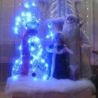 Звёздный  снеговик. :: Алексей Рыбаков