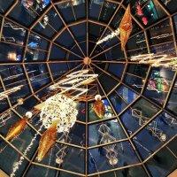 Москва. Новогодний купол в ТЦ Мега, Дек., 2015г :: Константин Фролов