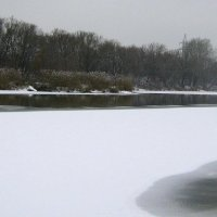 Ока в декабре. :: Борис Митрохин