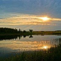 Вечером на озере :: Светлана