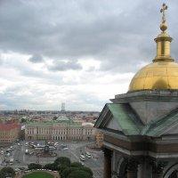 Вид с колоннады Исаакиевского Собора :: Елена Павлова (Смолова)
