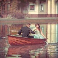 Сказка о рыбаке, его невесте и золотой рыбке... :: Дмитрий Додельцев