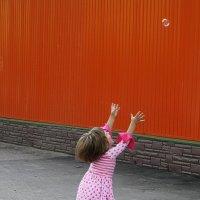 А  шарик  улетел.... :: Валерия  Полещикова