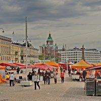 Торговая площадь в Хельсинки :: Олег Попков