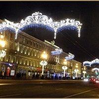Новогоднее украшение Невского проспекта :: Вера