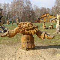 На территории музея :: Виктор Мухин