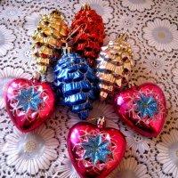 Новогодние игрушки :: Елена Семигина