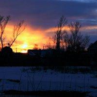 Зима... декабрь... размыты акварели... :: Евгений Юрков