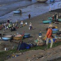 Рыбацкая деревня. Вьетнам. :: Татьяна Панчешная