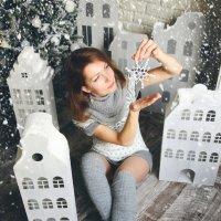 снежинка :: виктор омельчук