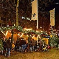 Рождественский базар в Гамбурге. Предпраздничные встречи :: Nina Yudicheva