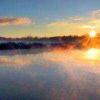 Золотой рассвет декабря...2 :: Андрей Войцехов