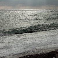 Чёрное море  в дождь :: elena manas
