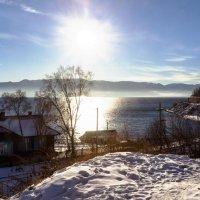 Солнце над озером :: Анатолий Иргл