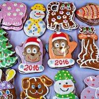Новогодние пряники. :: Валерия Комова