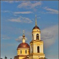 Церковь Преображения Господня в Радонеже, 1834-1840 :: Дмитрий Анцыферов