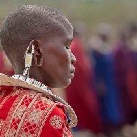 женщина масаи :: сергей агаев