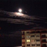 Луна над городом :: Яков Реймер