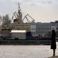В нашу гавань заходили корабли... :: Алексей Астафьев