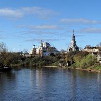 Борисо-Глебский монастырь, утро :: галина северинова