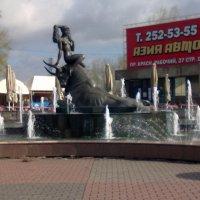 фонтан в Красноярске у Предмостной . :: николай баулин