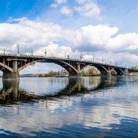 Иркутск Ангарский мост :: Владислав Никитин
