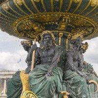 Фонтан на площади Согласия. Париж :: Вадим Лячиков