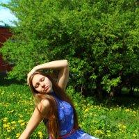 Наслаждение солнцем :: Катя Филиппова