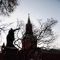 Красная площадь, Памятник Минину и Пожарскому.21.02.2013г. :: Виталий Виницкий