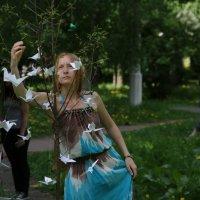 Ты лети журавлик... :: Анастасия Мельник