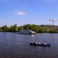 На реке :: Андрей Бойко