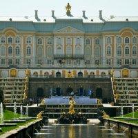 Большой Петергофский дворец. :: Виктория Задорская
