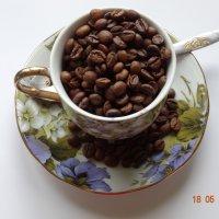 Чашка ароматного кофе :: Анна Фряуф